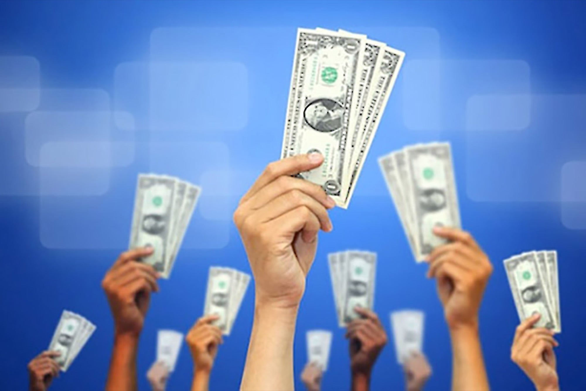 Crowdfunding: raising money for a startup