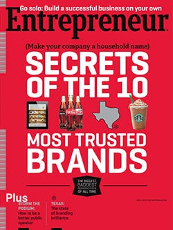 Entrepreneur Magazine - April 2012