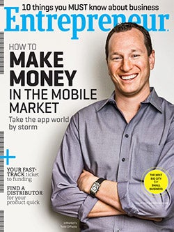 Entrepreneur Magazine - August 2012