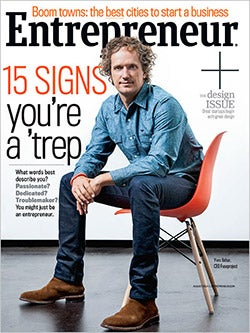 Entrepreneur Magazine - August 2014