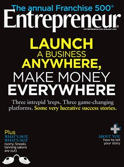 Entrepreneur Magazine - January 2012