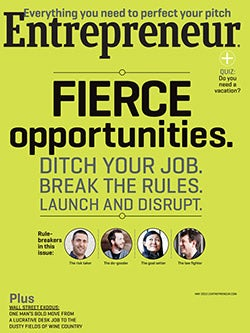 Entrepreneur Magazine - May 2012