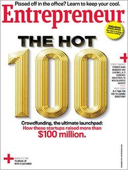 Entrepreneur Magazine - November 2013