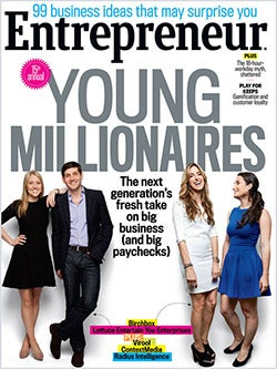 Entrepreneur Magazine - September 2013