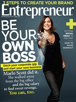 Entrepreneur Magazine - April 2011
