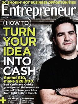 Entrepreneur Magazine - August 2011
