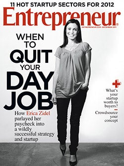Entrepreneur Magazine - December 2011