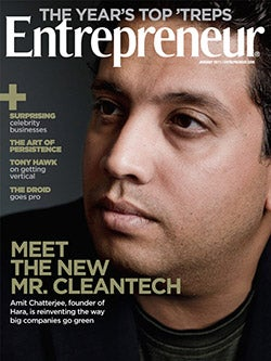 Entrepreneur Magazine - January 2011