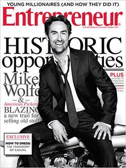 Entrepreneur Magazine - September 2011