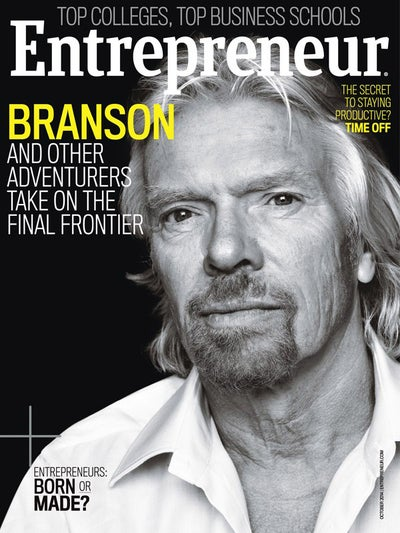 Entrepreneur Magazine - October 2014