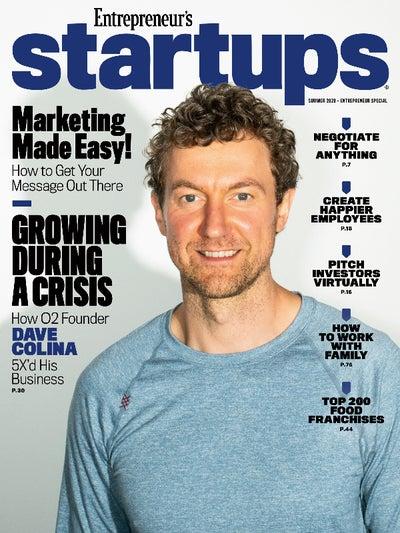 Entrepreneur Startups Magazine - August 2020