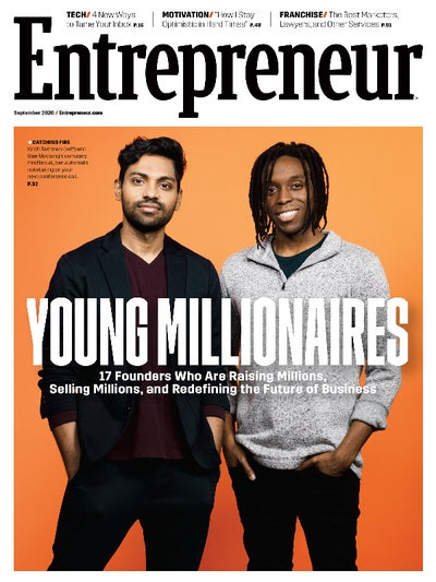 Entrepreneur Magazine - September 2020