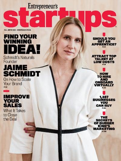 Entrepreneur Startups Magazine - November 2020
