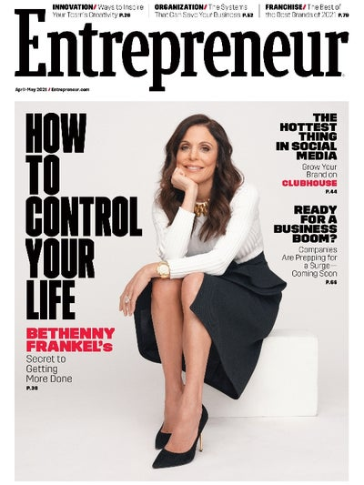 Entrepreneur Magazine - April 2021