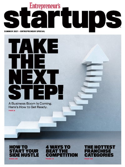 Entrepreneur Startups Magazine  -  6月2021年6月