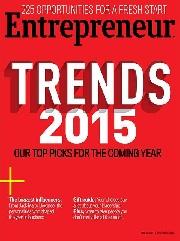 Entrepreneur Magazine - December 2014