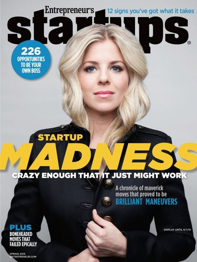 Entrepreneur Startups Magazine - March 2015