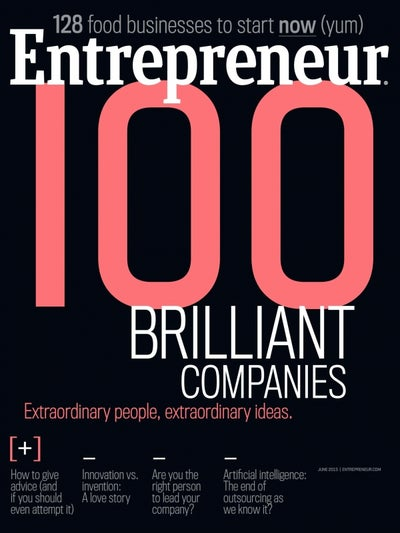 Entrepreneur Magazine - June 2015