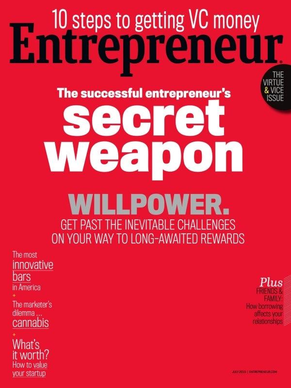 Entrepreneur Magazine - July 2015