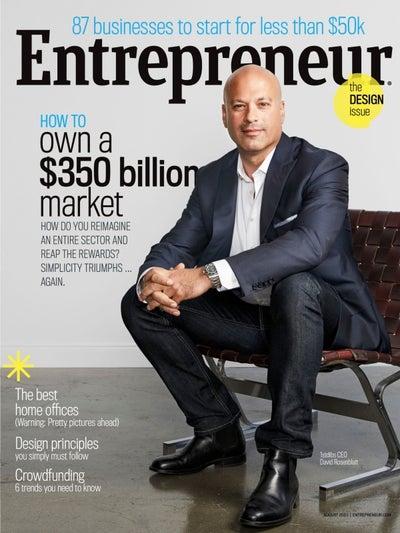 Entrepreneur Magazine - August 2015