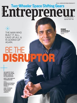 Entrepreneur Magazine India - September 2015