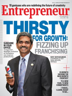 Entrepreneur Magazine India - January 2016