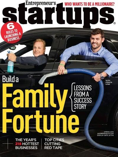 Entrepreneur Startups Magazine - March 2016