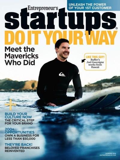 Entrepreneur Startups Magazine - June 2016