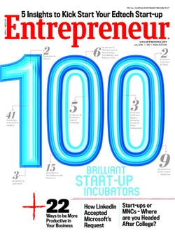 Entrepreneur Magazine India - July 2016