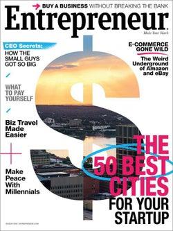 Entrepreneur Magazine - August 2016