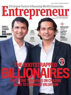 Entrepreneur Magazine India - September 2016