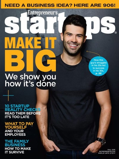 Entrepreneur Startups Magazine - October 2016