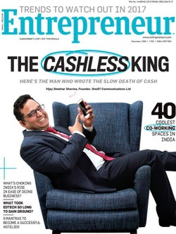 Entrepreneur Magazine India - December 2016