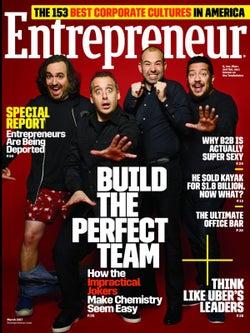 Entrepreneur Magazine - March 2017