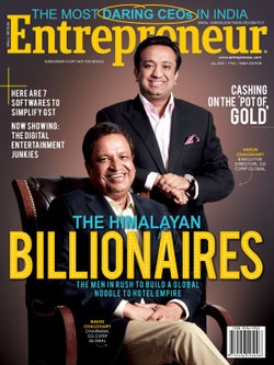 Entrepreneur Magazine India - July 2017