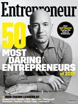 Entrepreneur Magazine - November 2017