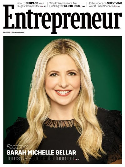Entrepreneur Magazine - April 2018