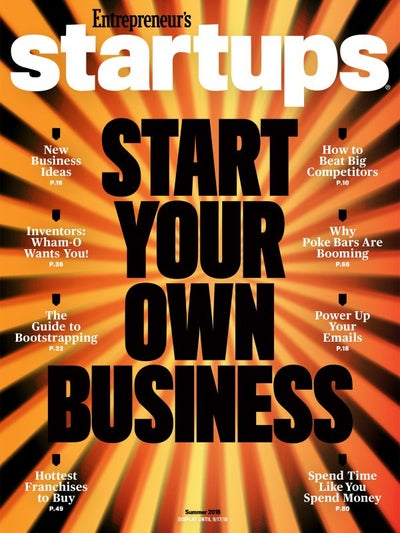 Entrepreneur Startups Magazine - June 2018