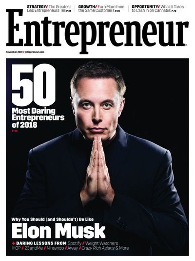 Entrepreneur Magazine - November 2018