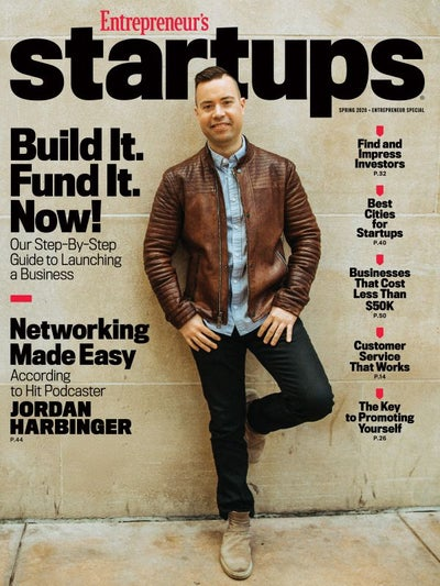 Entrepreneur Startups Magazine - March 2020