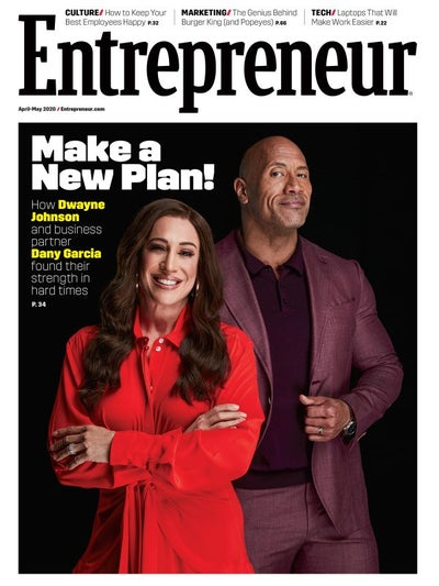 Entrepreneur Magazine - April 2020