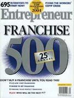 Entrepreneur Magazine - January 2004
