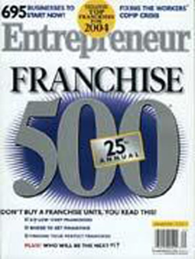 Entrepreneur Magazine - January 2004