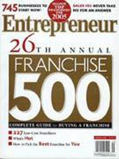Entrepreneur Magazine - January 2005