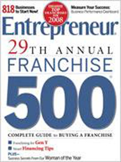 Entrepreneur Magazine - January 2008