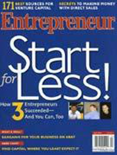 Entrepreneur Magazine - July 2004