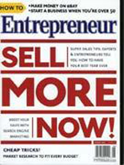 Entrepreneur Magazine - August 2004