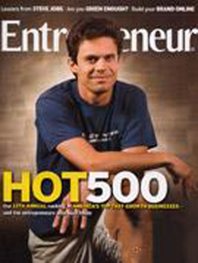Entrepreneur Magazine - August 2007
