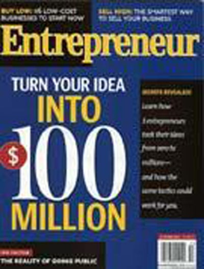 Entrepreneur Magazine - October 2004