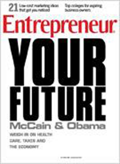 Entrepreneur Magazine - October 2008